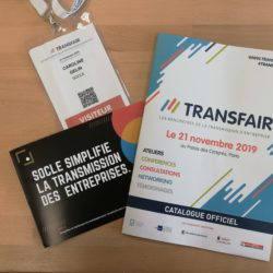 transmission Socle Transfair code com Communication interne