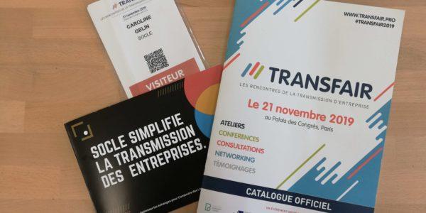 transmission Socle Transfair code com Communication interne